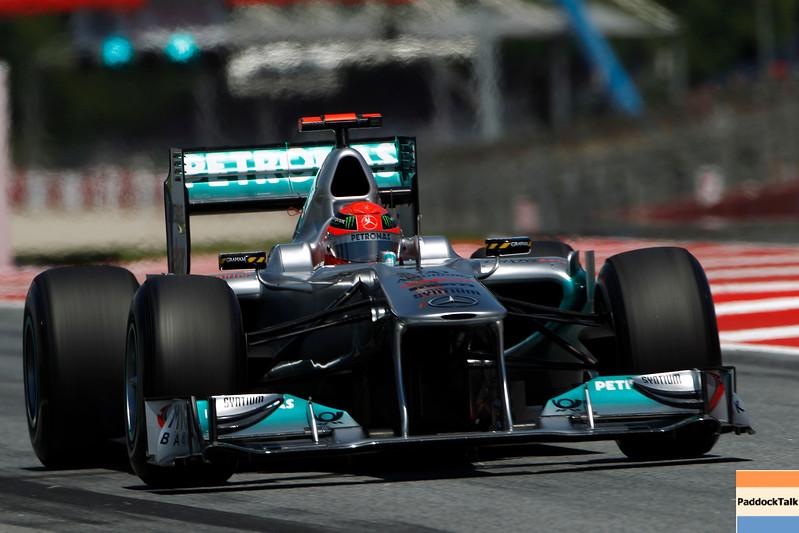 Motorsports: FIA Formula One World Championship 2011, Grand Prix of Spain, 07 Michael Schumacher (GER, Mercedes GP Petronas F1 Team),