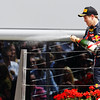 GEPA-10071199010 - FORMULA 1 - Grand Prix of Great Britain. Image shows Sebastian Vettel (GER/ Red Bull Racing). Keywords: award ceremony, podium, champagne. Photo: Getty Images/ Mark Thompson - For editorial use only. Image is free of charge