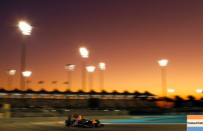 GEPA-11111199013 - FORMULA 1 - Grand Prix of Abu Dhabi, Yas Marina Circuit. Image shows Sebastian Vettel (GER/ Red Bull Racing). Photo: Getty Images/ Paul Gilham - For editorial use only. Image is free of charge