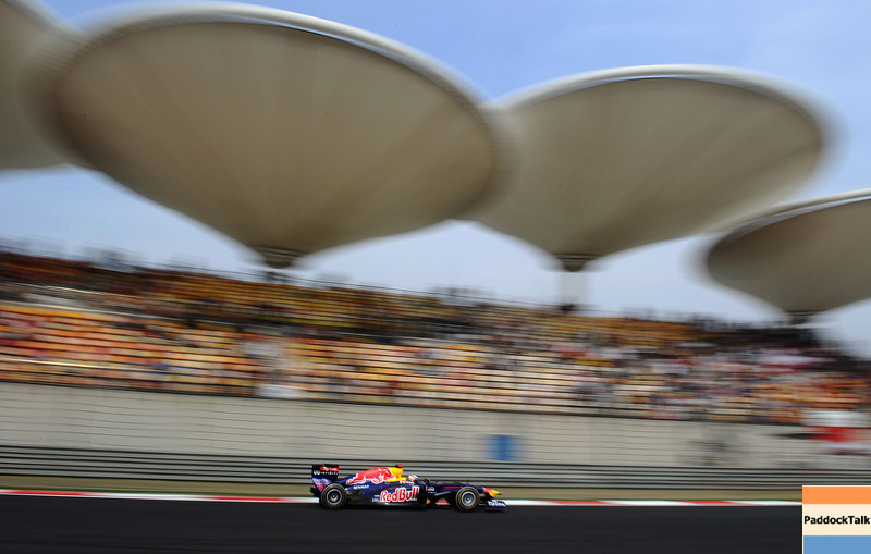 GEPA-17041199016- FORMULA 1 - Grand Prix of China. Image shows Sebastian Vettel (GER/ Red Bull Racing). Photo: Getty Images/ Clive Mason - For editorial use only. Image is free of charge