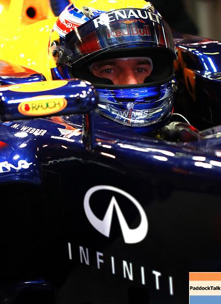 GEPA-09031199000 - FORMULA 1 - Testing in Barcelona, Circuit de Catalunya. Image shows Mark Webber (AUS/ Red Bull Racing). Photo: Vladimir Rys/ Getty Images - For editorial use only. Image is free of charge