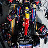 GEPA-08051199032 - FORMULA 1 - Grand Prix of Turkey. Image shows Mark Webber (AUS/ Red Bull Racing). Keywords: pit stop. Photo: Mark Thompson/ Getty Images - For editorial use only. Image is free of charge