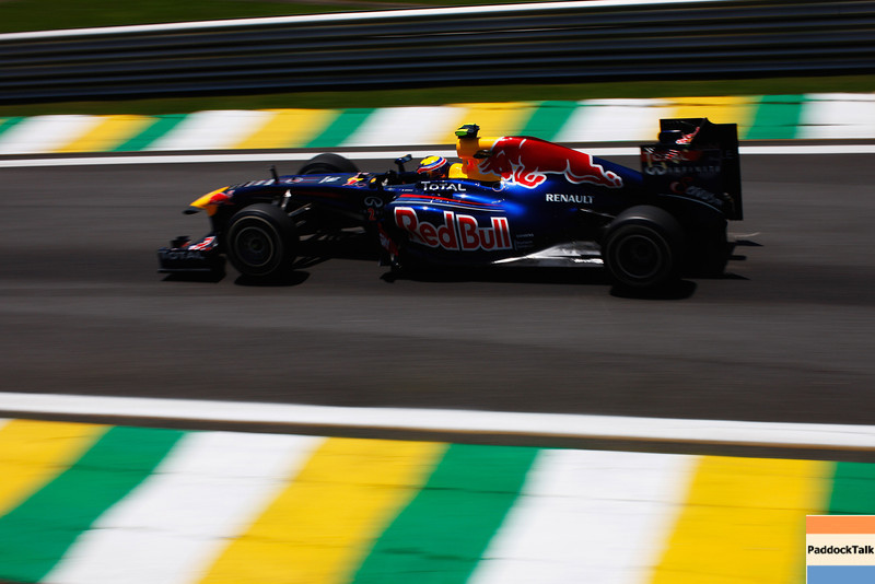 GEPA-25111199009 - FORMULA 1 - Grand Prix of Brazil, Interlagos. Image shows Mark Webber (AUS/ Red Bull Racing). Photo: Getty Images/ Mark Thompson - For editorial use only. Image is free of charge