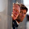 GEPA-02021199101 - FORMULA 1 - Testing in Valencia. Image shows team manager Jonathan Wheatley and Mark Webber (AUS/ Red Bull Racing). Photo: Mark Thompson/ Getty Images - For editorial use only. Image is free of charge
