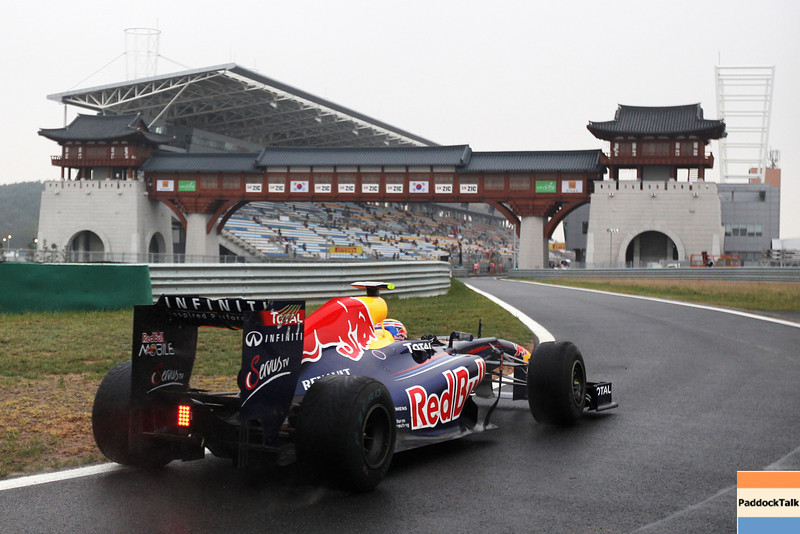 GEPA-14101199018 - FORMULA 1 - Grand Prix of South Korea, Korean International Circuit. Image shows Mark Webber (AUS/ Red Bull Racing). Photo: Getty Images/ Clive Rose - For editorial use only. Image is free of charge