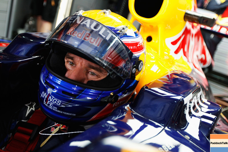GEPA-09041199013 - FORMULA 1 - Grand Prix of Malaysia, Sepang Circuit. Image shows Mark Webber (AUS/ Red Bull Racing). Photo: Getty Images/ Mark Thompson - For editorial use only. Image is free of charge