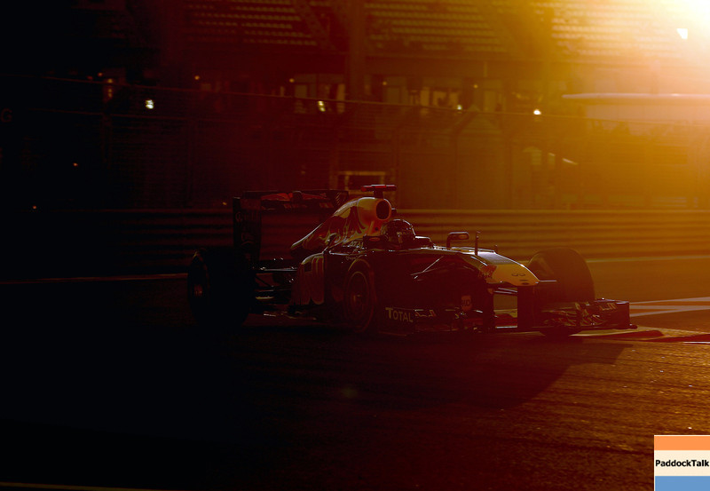 GEPA-11111199015 - FORMULA 1 - Grand Prix of Abu Dhabi, Yas Marina Circuit. Image shows Sebastian Vettel (GER/ Red Bull Racing). Photo: Getty Images/ Clive Mason - For editorial use only. Image is free of charge