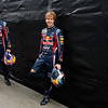 GEPA-24031199010 - FORMULA 1 - Grand Prix of Australia, preview, photo shoot. Image shows Mark Webber (AUS) and Sebastian Vettel (GER/ Red Bull Racing). Photo: Getty Images/ Mark Thompson - For editorial use only. Image is free of charge