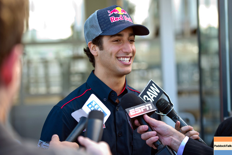 GEPA-23031199001 - FORMULA 1 - Grand Prix of Australia, preview, press talk at St. Kilda Beach. Image shows test driver Daniel Ricciardo (AUS/ Red Bull Racing). Photo: Getty Images/ Mark Watson - For editorial use only. Image is free of charge