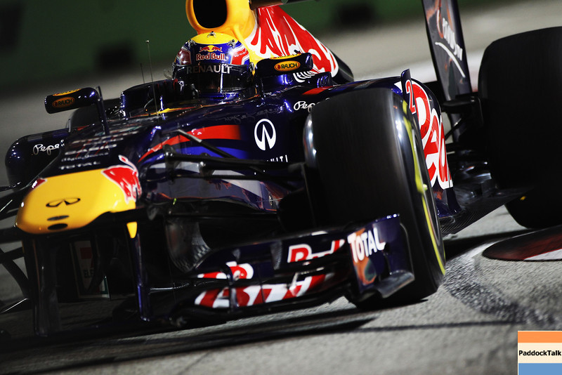 GEPA-24091199000 - FORMULA 1 - Grand Prix of Singapore. Image shows Mark Webber (AUS/ Red Bull Racing). Photo: Getty Images/ Mark Thompson - For editorial use only. Image is free of charge