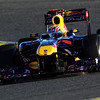 GEPA-03021199003 - FORMULA 1 - Testing in Valencia. Image shows Mark Webber (AUS/ Red Bull Racing). Photo: Paul Gilham/ Getty Images - For editorial use only. Image is free of charge
