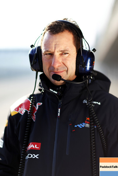GEPA-10021199031 - FORMULA 1 - Testing in Jerez. Image shows chief mechanic Kenny Handkammer (Red Bull Racing). Photo: Paul Gilham/ Getty Images - For editorial use only. Image is free of charge