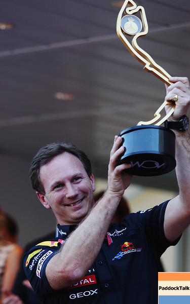 GEPA-29051199027 - FORMULA 1 - Grand Prix of Monaco. Image shows Team Principal Christian Horner (Red Bull Racing). Keywords: trophy. Photo: Mark Thompson/ Getty Images - For editorial use only. Image is free of charge