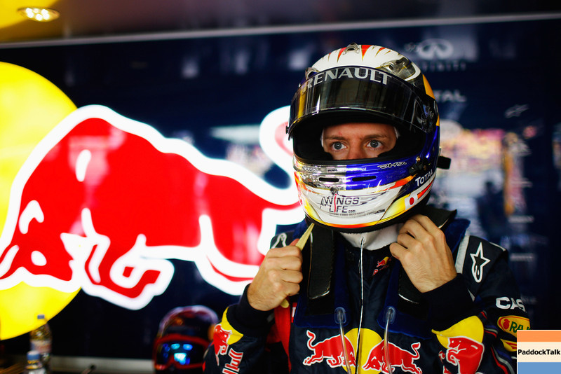 GEPA-16041199021 - FORMULA 1 - Grand Prix of China. Image shows Sebastian Vettel (GER/ Red Bull Racing). Photo: Getty Images/ Mark Thompson - For editorial use only. Image is free of charge