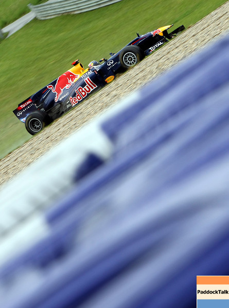 GEPA-15051181157 - SPIELBERG,AUSTRIA,15.MAY.11 - MOTORSPORT, FORMULA 1 - Open House Day Red Bull Ring, project Spielberg. Image shows Sebastian Vettel (GER/ Red Bull Racing). Photo: GEPA pictures/ Christian Walgram - For editorial use only. Image is free of charge.