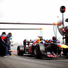GEPA-19021199009 - FORMULA 1 - Testing in Barcelona, Circuit de Catalunya. Image shows Sebastian Vettel (GER/ Red Bull Racing). Photo: Mark Thompson/ Getty Images - For editorial use only. Image is free of charge