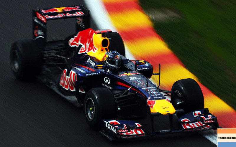 GEPA-26081199008 - FORMULA 1 - Grand Prix of Belgium, Spa Francorchamps. Image shows Sebastian Vettel (GER/ Red Bull Racing). Photo: Getty Images/ Lars Baron - For editorial use only. Image is free of charge