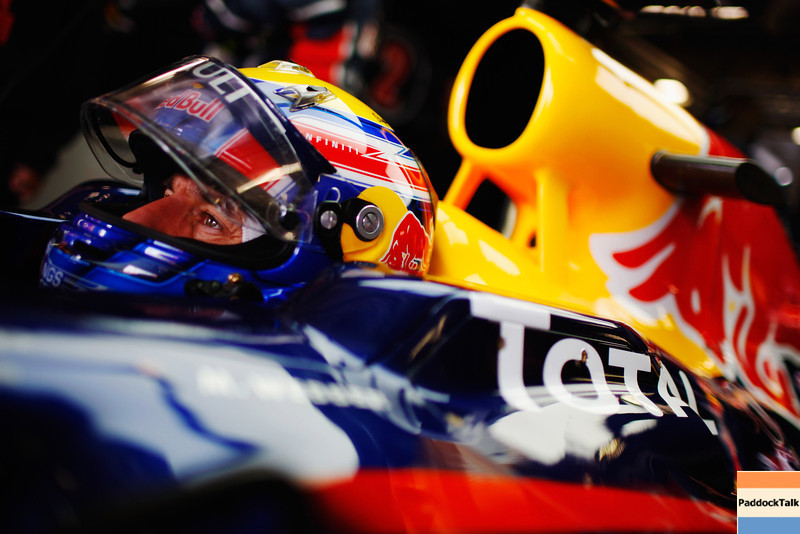 GEPA-23071199013 - FORMULA 1 - Grand Prix of Germany, Nuerburgring. Image shows Mark Webber (AUS/ Red Bull Racing). Photo: Getty Images/ Mark Thompson - For editorial use only. Image is free of charge