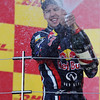 GEPA-09101199022 - FORMULA 1 - Grand Prix of Japan. Image shows the rejoicing of Sebastian Vettel (GER/ Red Bull Racing). Keywords: award ceremony, sparkling wine. Photo: Getty Images/ Mark Thompson - For editorial use only. Image is free of charge