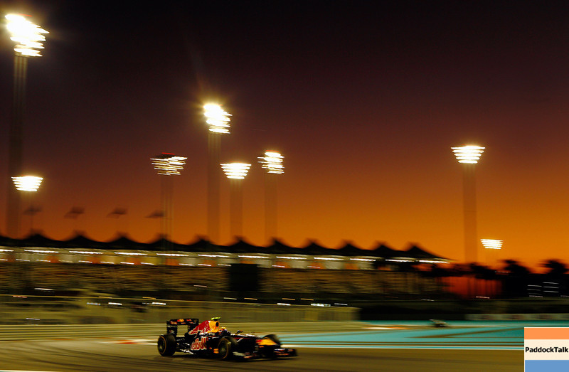 GEPA-11111199016 - FORMULA 1 - Grand Prix of Abu Dhabi, Yas Marina Circuit. Image shows Mark Webber (AUS/ Red Bull Racing). Photo: Getty Images/ Paul Gilham - For editorial use only. Image is free of charge
