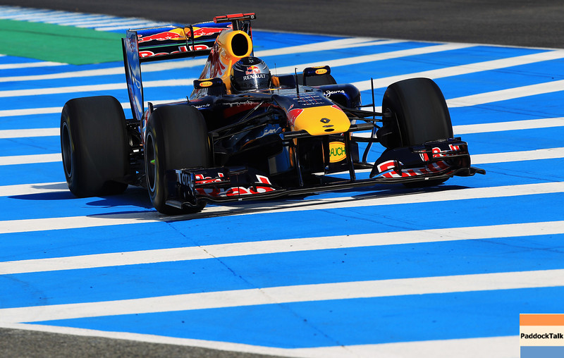GEPA-10021199006 - FORMULA 1 - Testing in Jerez. Image shows Sebastian Vettel (GER/ Red Bull Racing). Photo: Mark Thompson/ Getty Images - For editorial use only. Image is free of charge