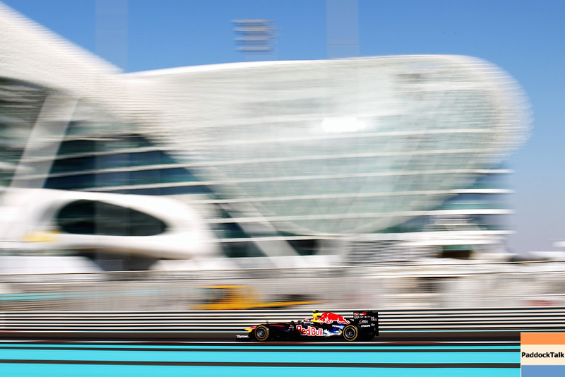 GEPA-11111199011 - FORMULA 1 - Grand Prix of Abu Dhabi, Yas Marina Circuit. Image shows Mark Webber (AUS/ Red Bull Racing). Photo: Getty Images/ Mark Thompson - For editorial use only. Image is free of charge