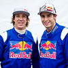 GEPA-24031199006 - FORMULA 1 - Grand Prix of Australia, preview, Red Bull Race Off. Image shows Freestyle Motorcross rider Robbie Maddison (AUS) and V8 Supercar driver Rick Kelly (AUS). Photo: Getty Images/ Mark Watson - For editorial use only. Image is free of charge