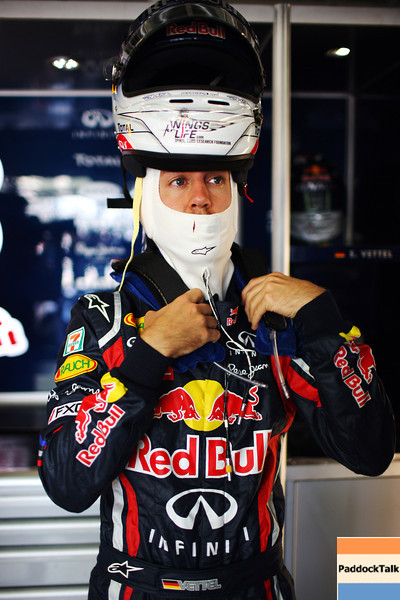 GEPA-07101199001 - FORMULA 1 - Grand Prix of Japan. Image shows Sebastian Vettel (GER/ Red Bull Racing). Photo: Getty Images/ Mark Thompson - For editorial use only. Image is free of charge