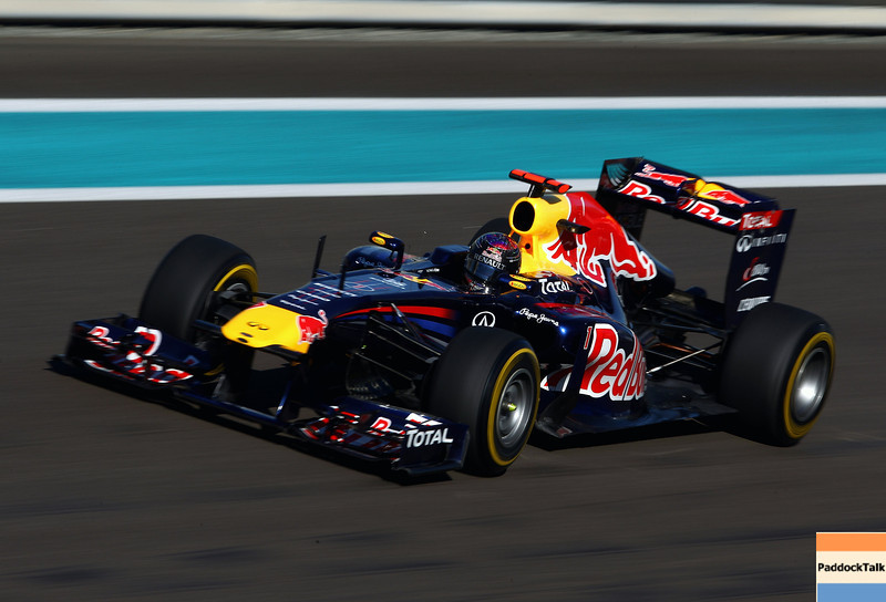 GEPA-11111199008 - FORMULA 1 - Grand Prix of Abu Dhabi, Yas Marina Circuit. Image shows Sebastian Vettel (GER/ Red Bull Racing). Photo: Getty Images/ Clive Mason - For editorial use only. Image is free of charge