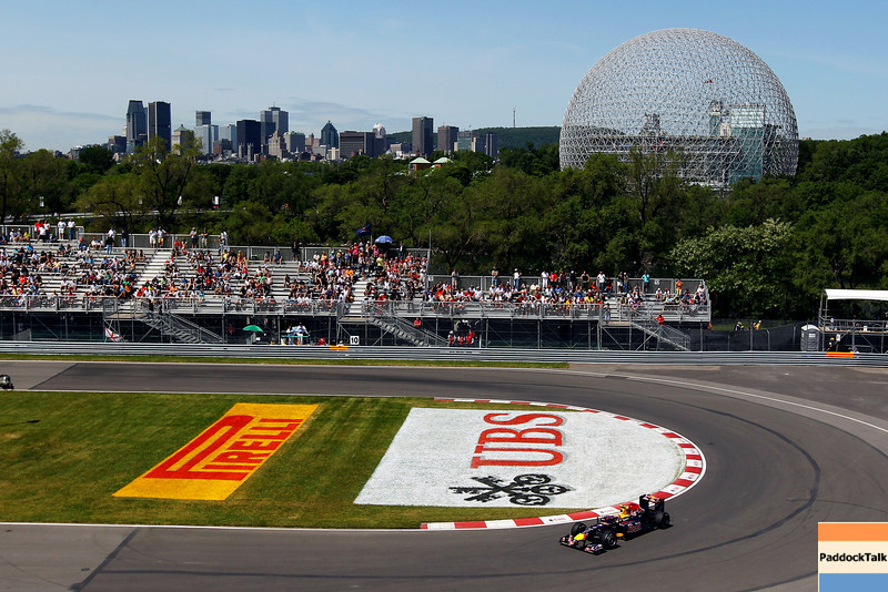 GEPA-10061199035 - FORMULA 1 - Grand Prix of Canada. Image shows Mark Webber (AUS/ Red Bull Racing). Keywords: science world. Photo: Clive Rose/ Getty Images - For editorial use only. Image is free of charge