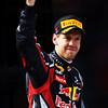 GEPA-08051199026 - FORMULA 1 - Grand Prix of Turkey. Image shows the rejoicing of Sebastian Vettel (GER/ Red Bull Racing). Photo: Bryn Lennon/ Getty Images - For editorial use only. Image is free of charge