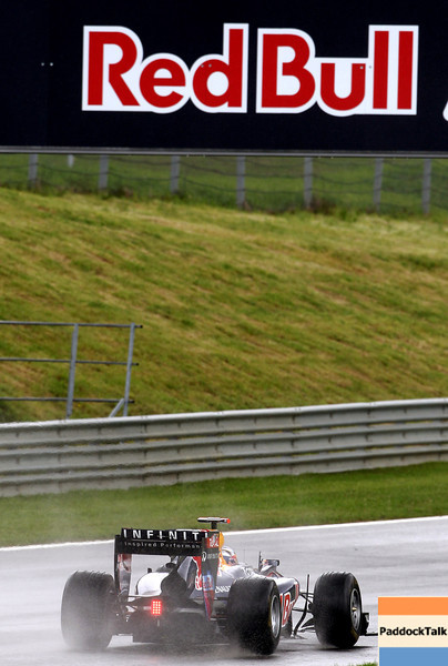 GEPA-15051181054 - SPIELBERG,AUSTRIA,15.MAY.11 - MOTORSPORT, FORMULA 1 - Open House Day Red Bull Ring, project Spielberg. Image shows Sebastian Vettel (GER/ Red Bull Racing). Photo: GEPA pictures/ Christian Walgram - For editorial use only. Image is free of charge.