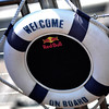 GEPA-28051199502 - FORMULA 1 - Grand Prix of Monaco. Image shows a life belt on the Red Bull Energy Station. Photo: Gareth Cattermole/ Getty Images - For editorial use only. Image is free of charge