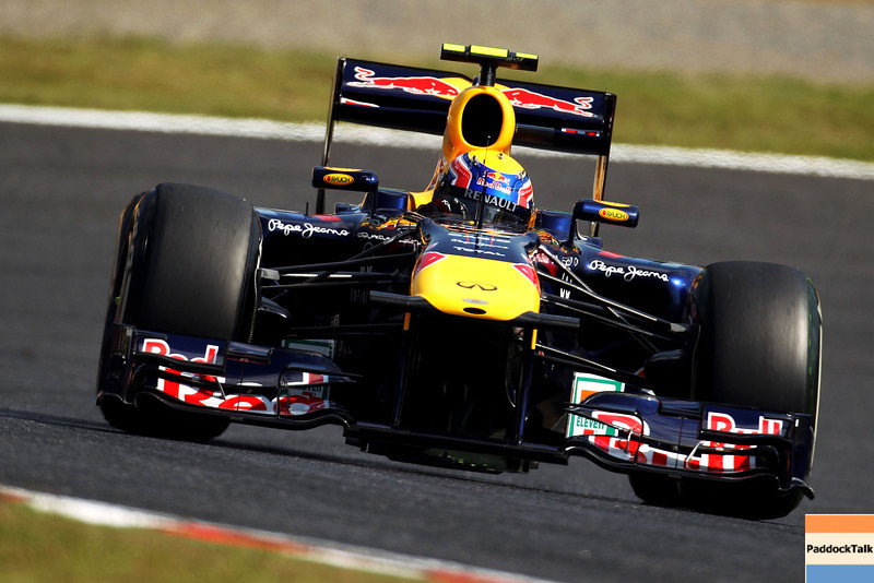 GEPA-07101199008 - FORMULA 1 - Grand Prix of Japan. Image shows Mark Webber (AUS/ Red Bull Racing). Photo: Getty Images/ Clive Rose - For editorial use only. Image is free of charge