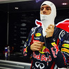 GEPA-25091199008 - FORMULA 1 - Grand Prix of Singapore. Image shows Mark Webber (AUS/ Red Bull Racing). Photo: Getty Images/ Ker Robertson - For editorial use only. Image is free of charge