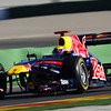 GEPA-03021199012 - FORMULA 1 - Testing in Valencia. Image shows Mark Webber (AUS/ Red Bull Racing). Photo: Mark Thompson/ Getty Images - For editorial use only. Image is free of charge