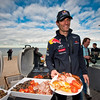 GEPA-23031199005 - FORMULA 1 - Grand Prix of Australia, preview, Australian Beach Barbecue at St. Kilda Beach. Image shows Mark Webber (AUS/ Red Bull Racing). Photo: Getty Images/ Mark Watson - For editorial use only. Image is free of charge
