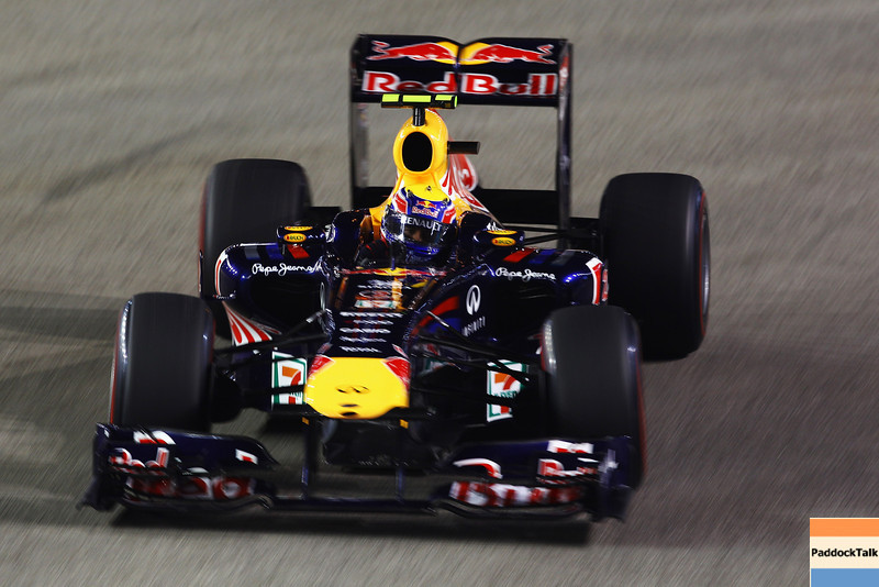 GEPA-24091199022 - FORMULA 1 - Grand Prix of Singapore. Image shows Mark Webber (AUS/ Red Bull Racing). Photo: Getty Images/ Vladimir Rys - For editorial use only. Image is free of charge