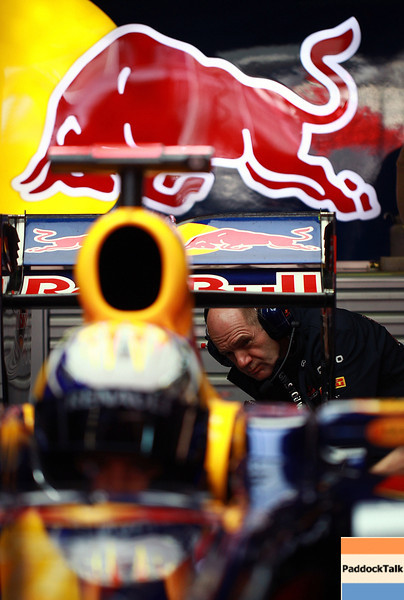 GEPA-18021199007 - FORMULA 1 - Testing in Barcelona, Circuit de Catalunya. Image shows chief technical officer Adrian Newey (Red Bull Racing). Photo: Vladimir Rys/ Getty Images - For editorial use only. Image is free of charge