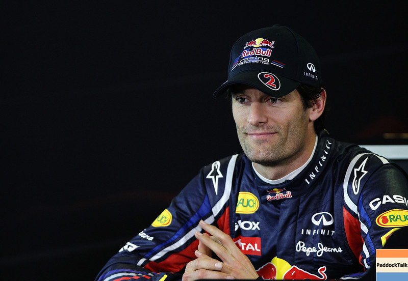 GEPA-24031199 - FORMULA 1 - Grand Prix of Australia, preview, press conference. Image shows Mark Webber (AUS/ Red Bull Racing). Photo: Getty Images/ Paul Gilham - For editorial use only. Image is free of charge