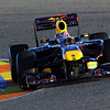 GEPA-03021199005 - FORMULA 1 - Testing in Valencia. Image shows Mark Webber (AUS/ Red Bull Racing). Photo: Paul Gilham/ Getty Images - For editorial use only. Image is free of charge