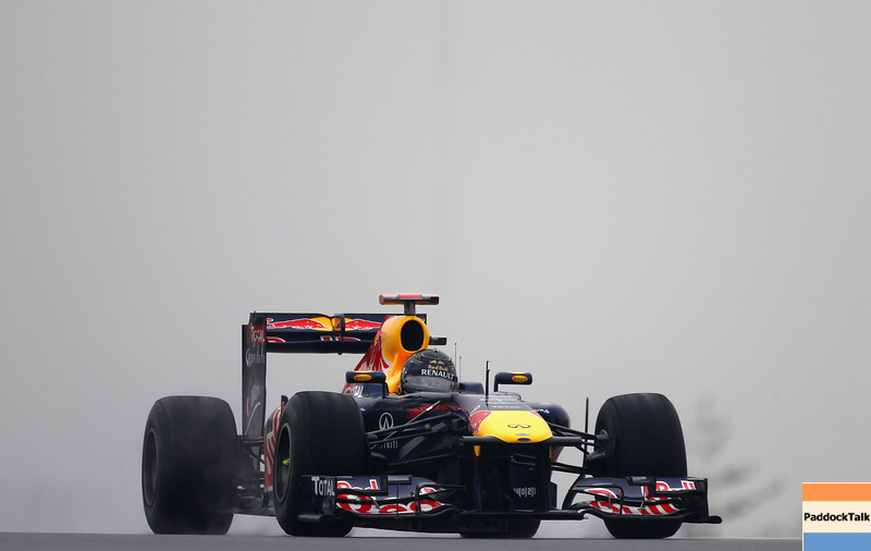 GEPA-14101199014 - FORMULA 1 - Grand Prix of South Korea, Korean International Circuit. Image shows Sebastian Vettel (GER/ Red Bull Racing). Photo: Getty Images/ Clive Mason - For editorial use only. Image is free of charge