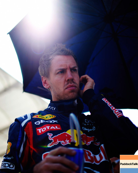 GEPA-08051199006 - FORMULA 1 - Grand Prix of Turkey. Image shows Sebastian Vettel (GER/ Red Bull Racing). Photo: Mark Thompson/ Getty Images - For editorial use only. Image is free of charge