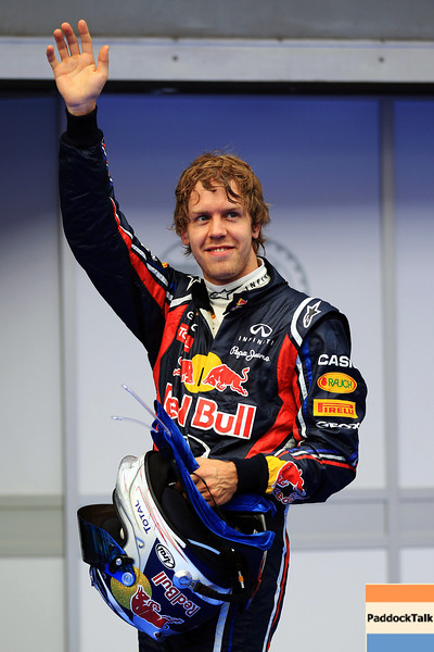 GEPA-09041199004 - FORMULA 1 - Grand Prix of Malaysia, Sepang Circuit. Image shows Sebastian Vettel (GER/ Red Bull Racing). Photo: Getty Images/ Mark Thompson - For editorial use only. Image is free of charge