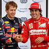 GEPA-11061199022 - FORMULA 1 - Grand Prix of Canada. Image shows Sebastian Vettel (GER/ Red Bull Racing) and Fernando Alonso (ESP/ Ferrari). Photo: Paul Gilham/ Getty Images - For editorial use only. Image is free of charge