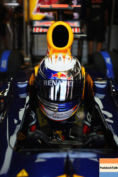 GEPA-30071199006 - FORMULA 1 - Grand Prix of Hungary, Hungaroring. Image shows Sebastian Vettel (GER/ Red Bull Racing). Photo: Getty Images/ Mark Thompson - For editorial use only. Image is free of charge