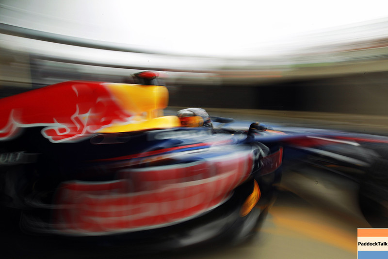 GEPA-08071199007 - FORMULA 1 - Grand Prix of Great Britain. Image shows a feature with Sebastian Vettel (GER/ Red Bull Racing). Photo: Getty Images/ Paul Gilham - For editorial use only. Image is free of charge