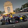 GEPA-01101199703 - FORMULA 1 - Grand Prix of India, preview, showrun. Image shows Daniel Ricciardo (AUS). Photo: Getty Images - For editorial use only. Image is free of charge