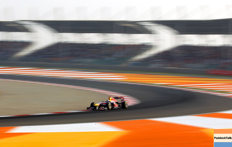 GEPA-30101199010 - FORMULA 1 - Grand Prix of India, Buddh-International-Circuit. Image shows Sebastian Vettel (GER/ Red Bull Racing). Photo: Getty Images/ Clive Mason - For editorial use only. Image is free of charge