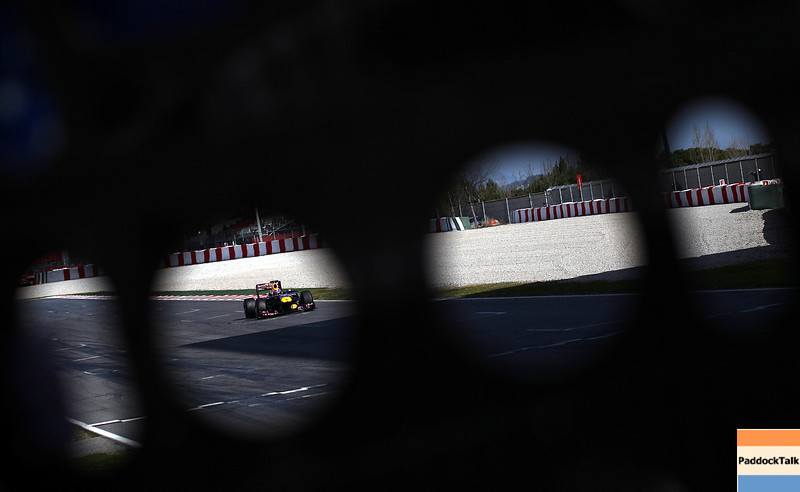 GEPA-21021199000 - FORMULA 1 - Testing in Barcelona, Circuit de Catalunya. Image shows Mark Webber (AUS/ Red Bull Racing). Photo: Vladimir Rys/ Getty Images - For editorial use only. Image is free of charge
